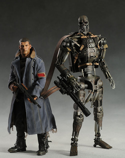 Terminator Salvation Marcus Wright action figure by Hot Toys