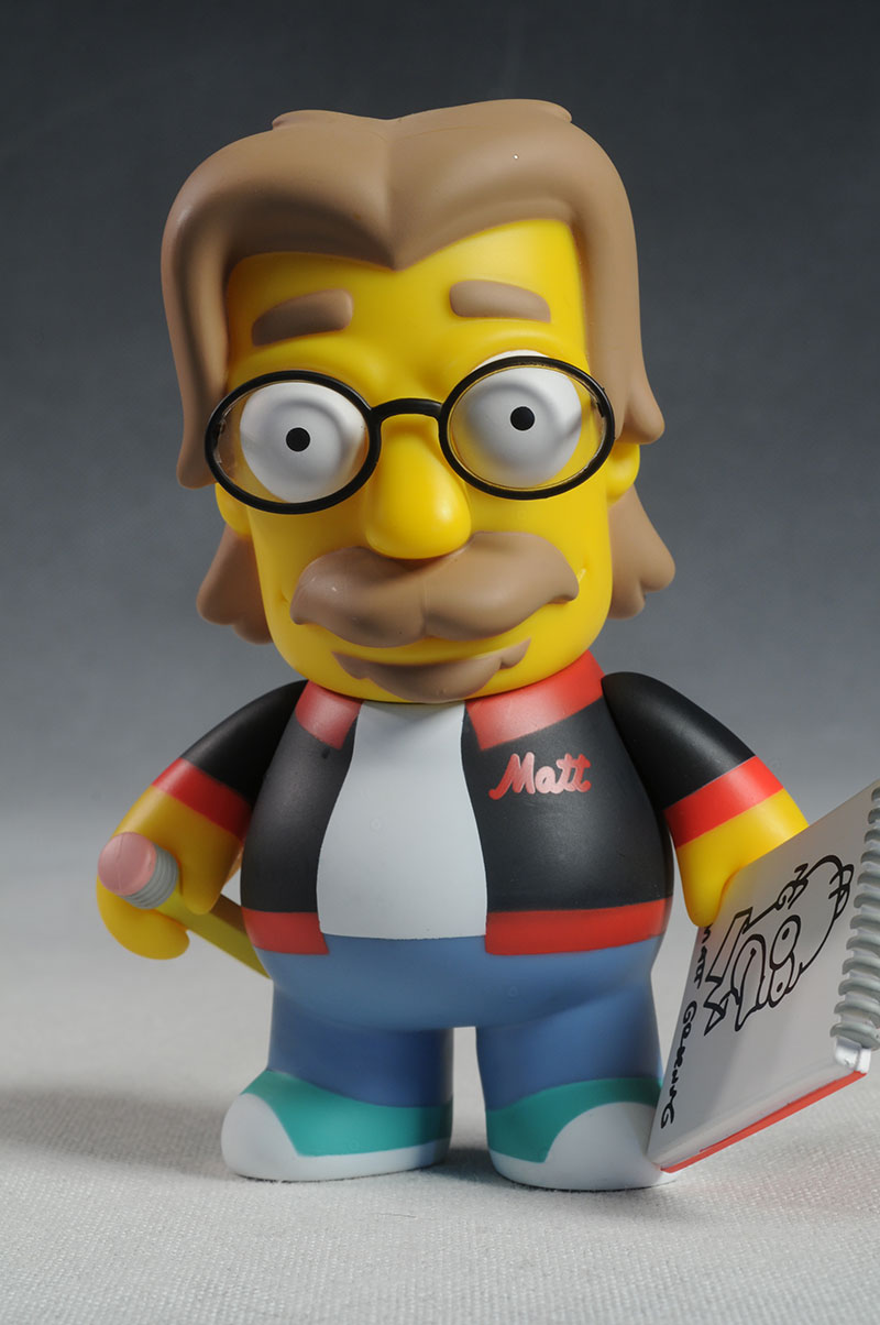 Matt Groening Simpsons vinyl figure by Kid Robot
