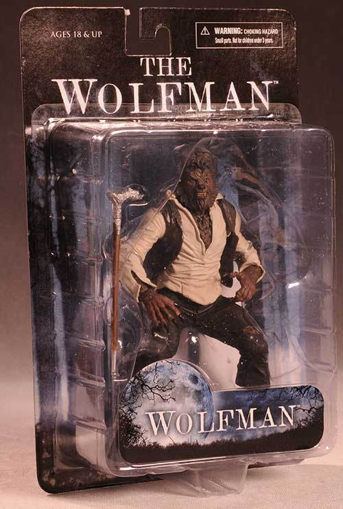Universal Monsters Wolfman action figure by Mezco
