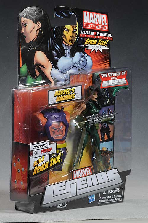 Arnim Zola, Madam Masque action figures by Hasbro