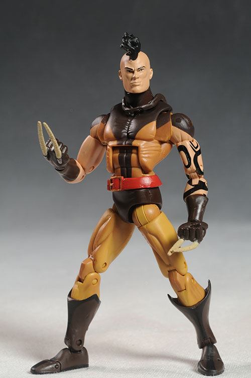 Marvel Legends Piledriver, Drax, Dark Wolverine figures by Hasbro