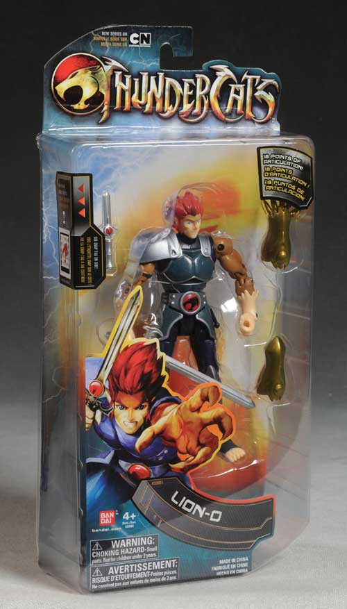 Thundercats Lion-O action figure by Bandai