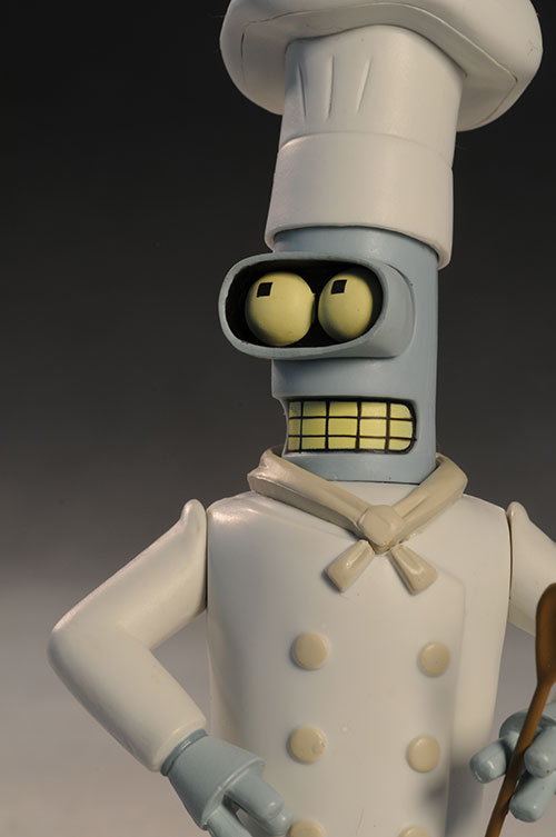 Futurama Chef Bender action figure by Toynami