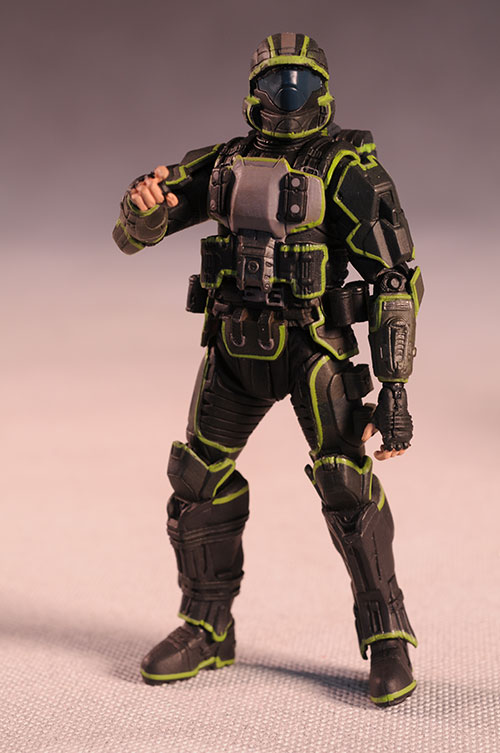 Halo Mongoose EVA ODST Rookie action figure from McFarlane Toys