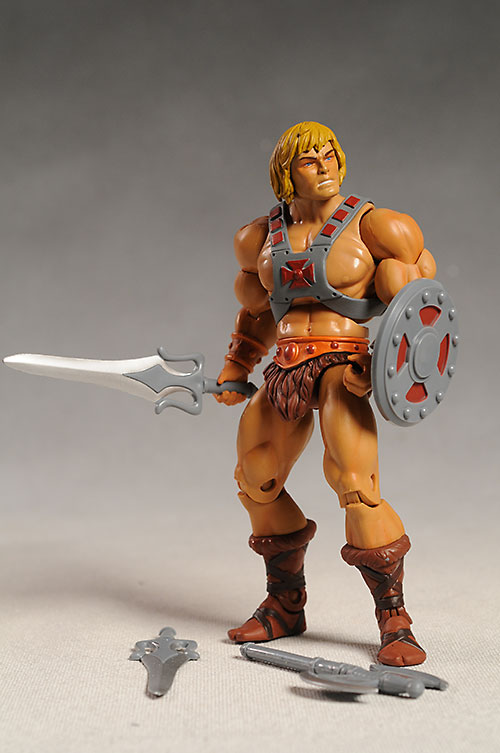 Masters of the Universe Classics He-man action figure by  Mattel
