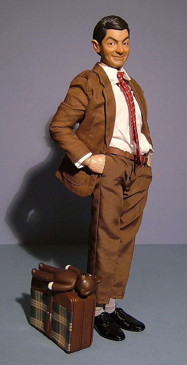 Enterbay Mr. Bean sixth scale action figure