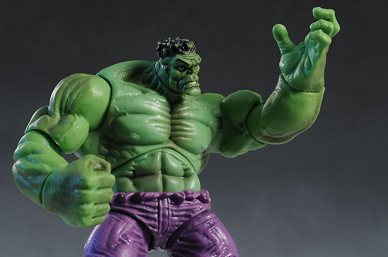 Marvel Universe Hulk, Thing, Captain America action figure by Hasbro