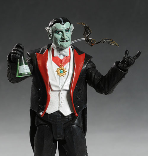 Herman, Lilly, Grampa Munsters action figure by DST