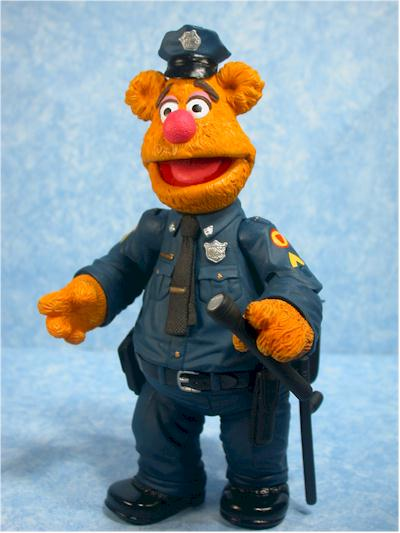 Muppets Patrol Bear Fozzie action figure by Palisades