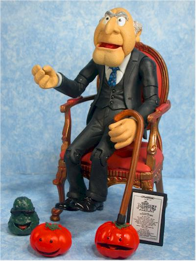 Muppets Statler action figure by Palisades