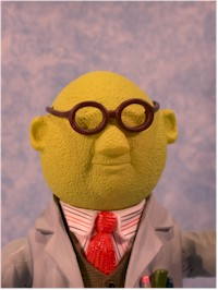 Muppets Kermit, Bunsen, Dr. Teeth action figures by Palisades