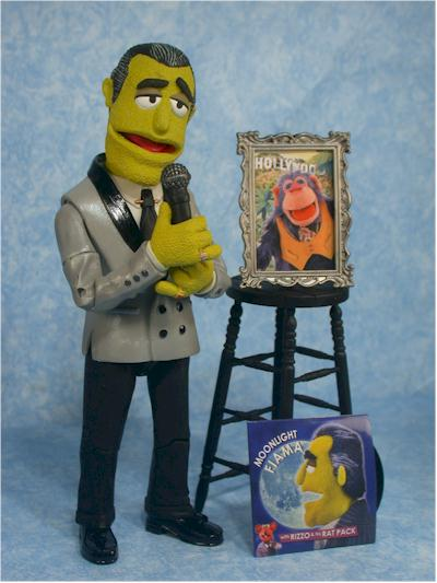 Palisades Muppets Johnny Fiama action figure