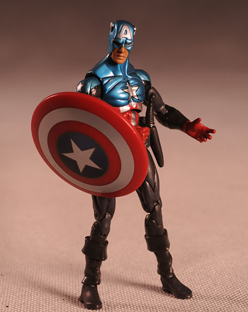 Marvel Universe Captain America action figure by Hasbro