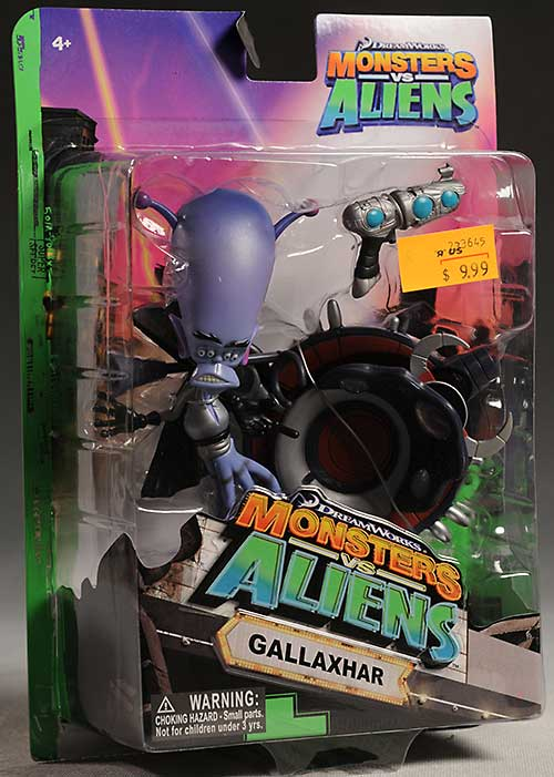 Monsters vs Aliens action figures by Toy Quest