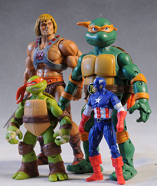 Where Can I Find Ninja Turtle Toys : Review and photos of new classic tmnt michelangelo action