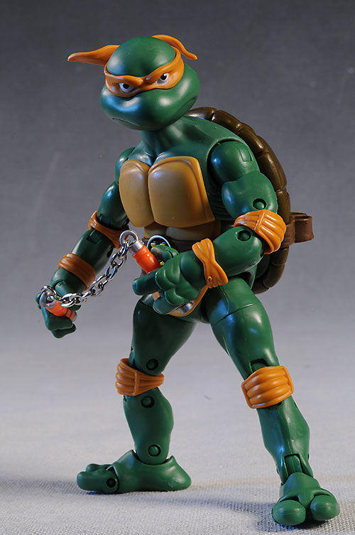 New, Classic TMNT Michelangelo action figure by Playmates