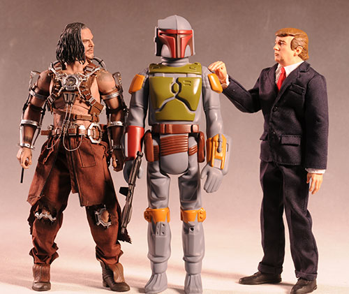 Star Wars Jumbo Boba Fett action figure by Gentle Giant