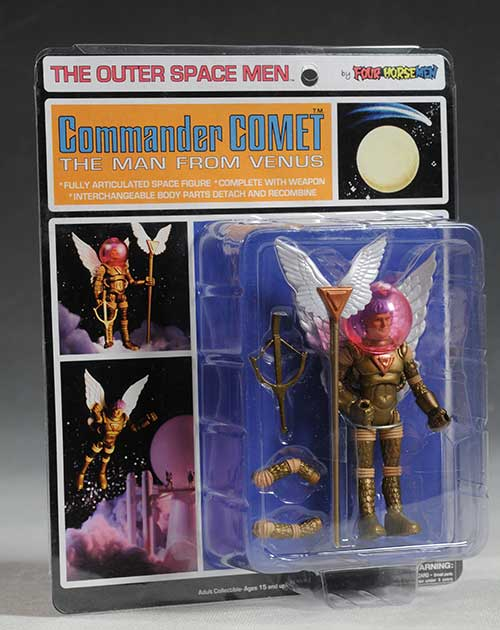 Outer Space Men action figures by Four Horsemen