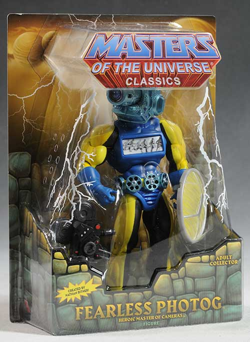 MOTUC Fearless Photog action figure by Mattel