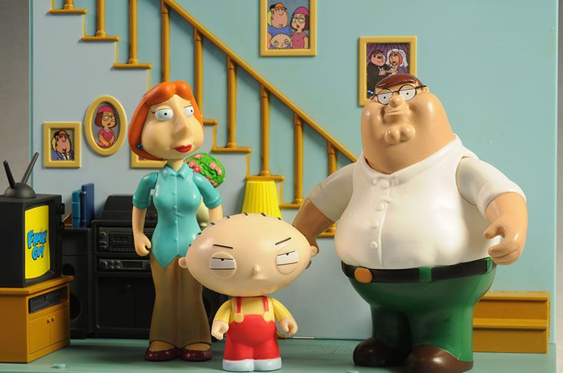Family Guy Peters Toy Design : Review and photos of family guy series action figures