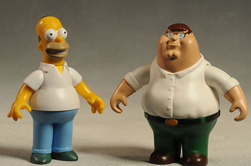 Review And Photos Of Family Guy Series 1 Action Figures And Playset