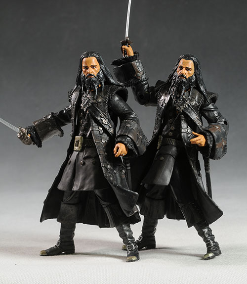Pirates Blackbeard, Phillip, Zombie action figures by Jakks