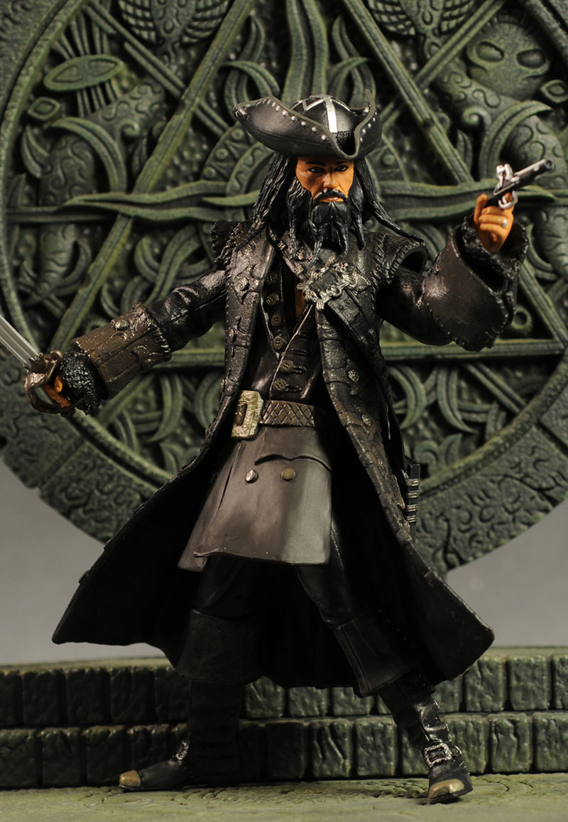 Jack Sparrow, Blackbeard action figures by Jakks