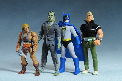 Creature from the Watergate Lagoon(Nixon) action figure from Presidential Monsters