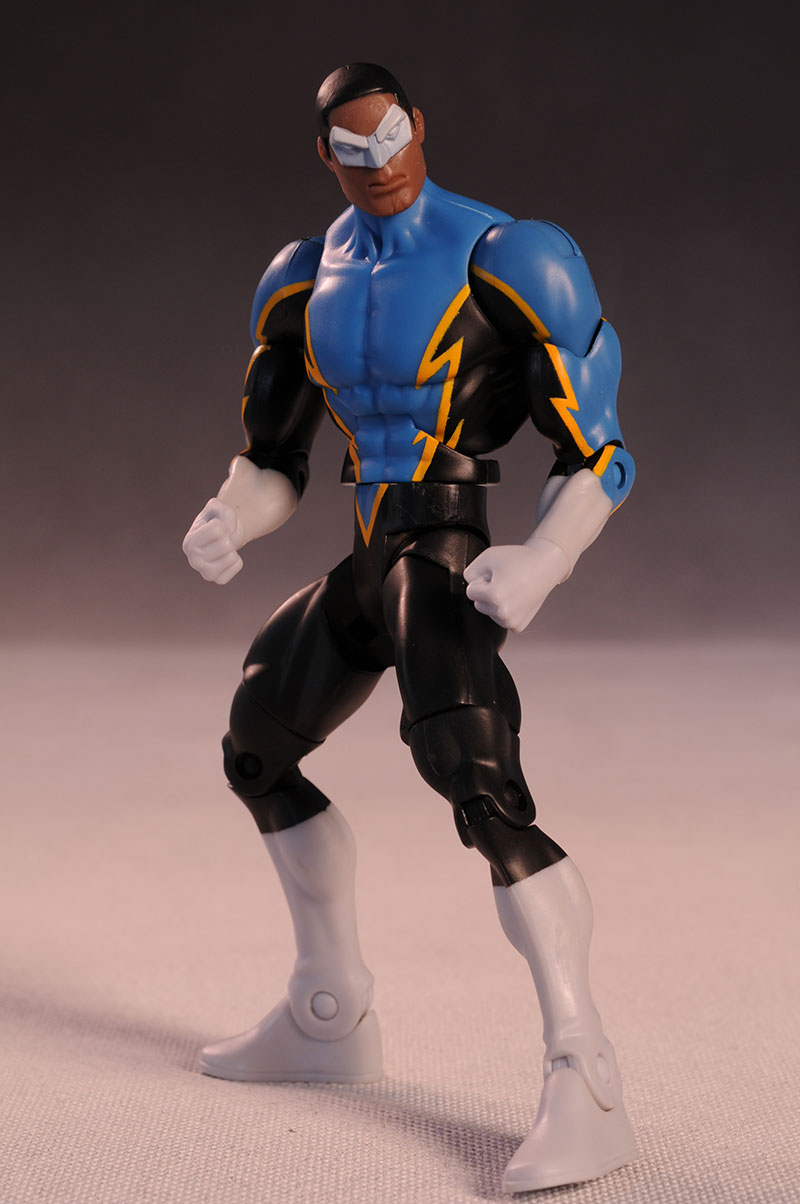 Public Enemies Black Lightning action figure by Mattel