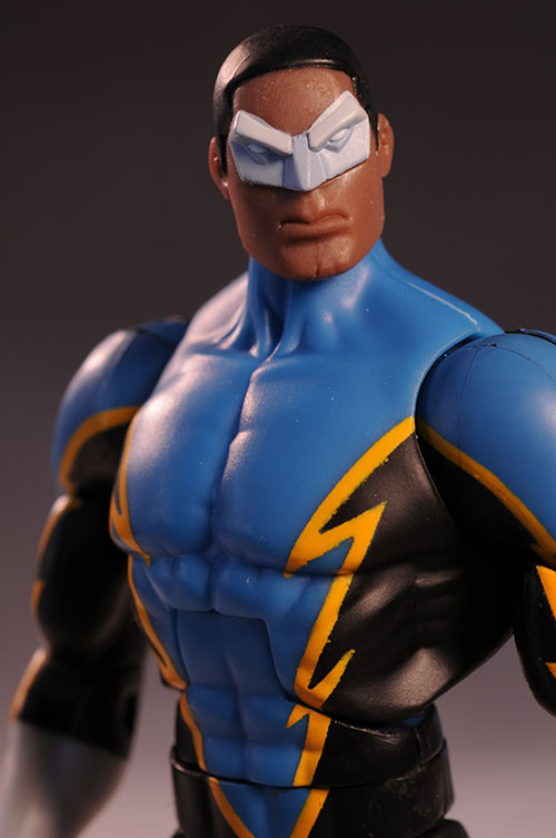 Public Enemies Black Lightning action figures by Mattel