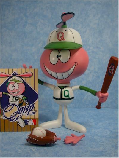 Quisp, Baseball Quisp action figure by Majestic Studios