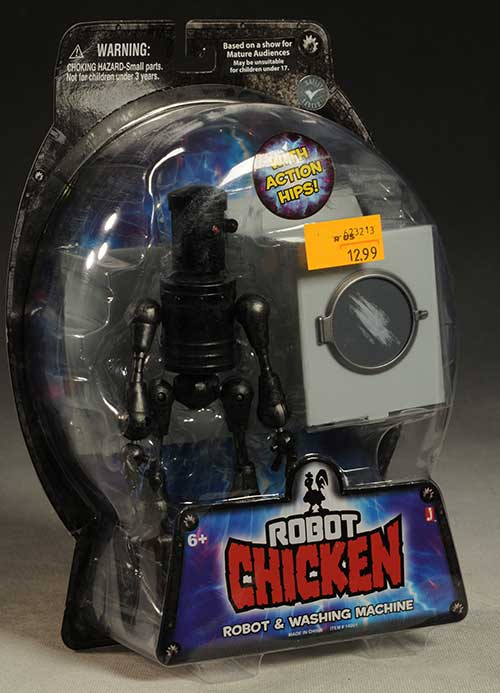 Robot Chicken action figures by Jazwares