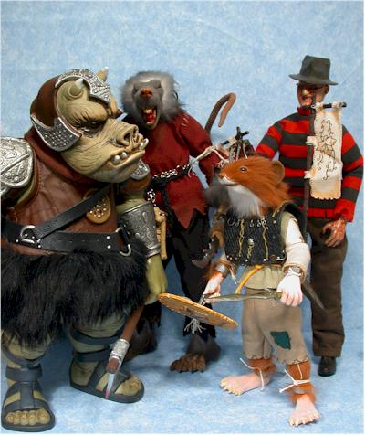 Realm of the Rodent Otak action figure by Lazy Bonz