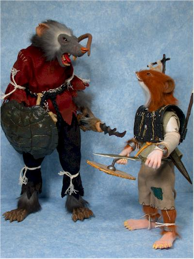 Realm of the Rodent action figures