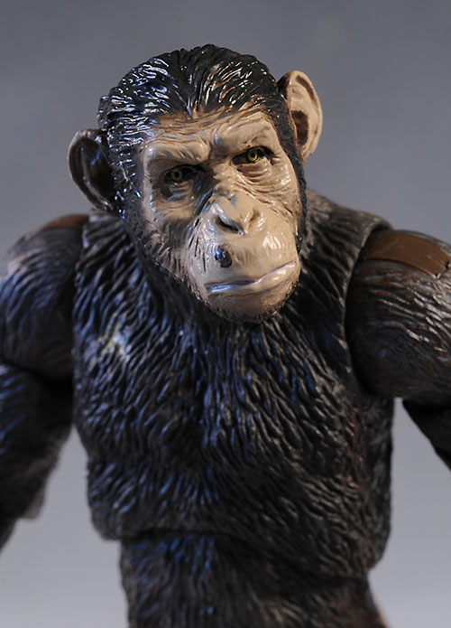 Rise of the Planet of the Apes Caesar figure by Hiya Toys