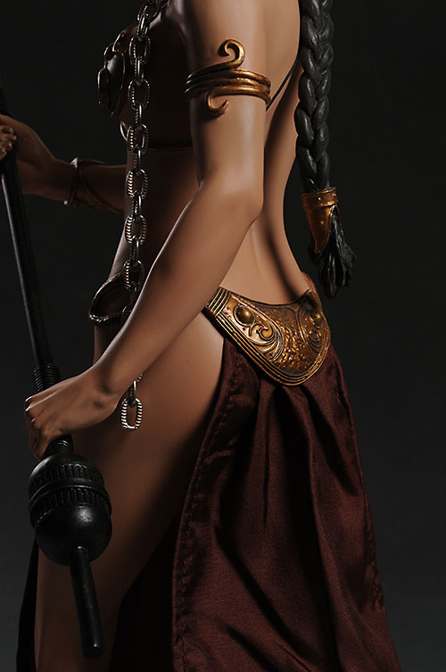 Princess Leia in Slave Outfit Premium Format Statue by Sideshow