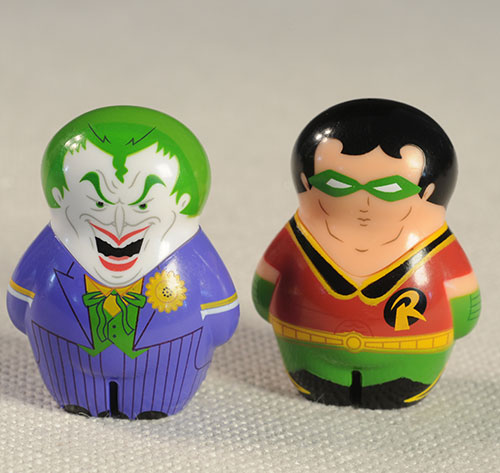 DC Comics Squatz figures by Wild Planet