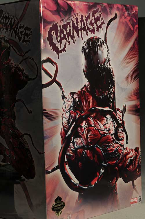 Marvel Carnage Comiquette statue by Sidseshow