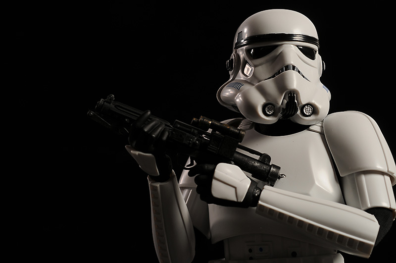 Star Wars Imperial Stormtrooper 1/6th action figure by Sideshow Collectibles