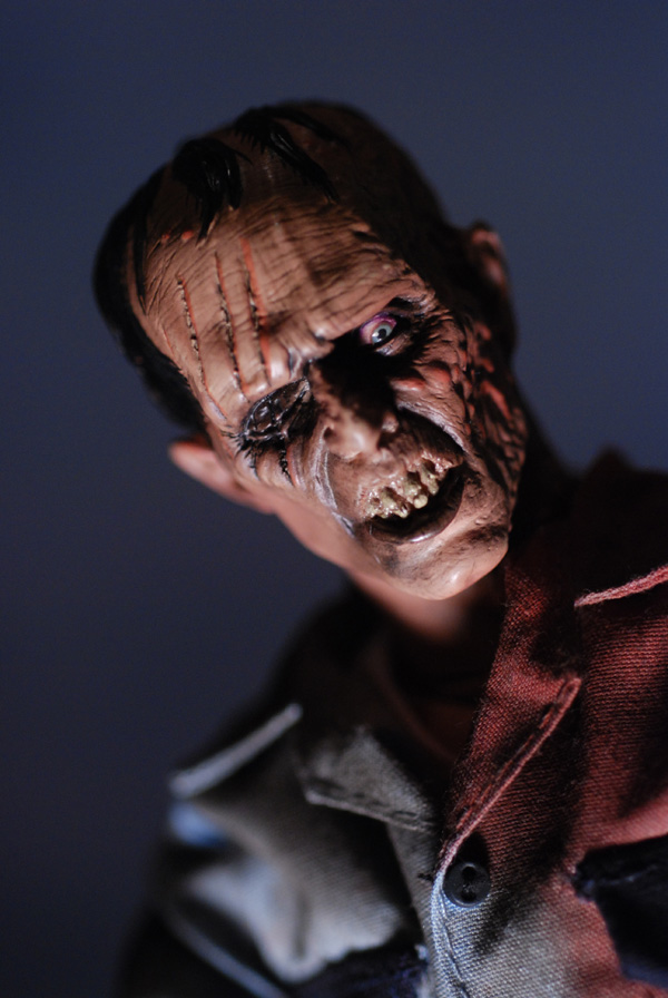 Sideshow The Dead Subject 5 sixth scale action figure