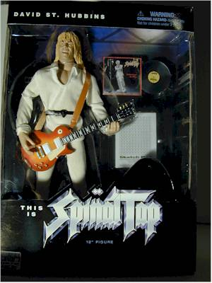 Spinal Tap sixth scale action figures by Sideshow