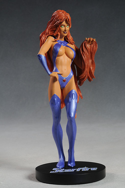 DC Cover Girls Starfire statue by DC Direct