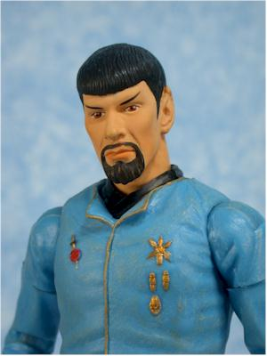 Star Trek Original Series Mirror Mirro Spock action figure by Art Asylum