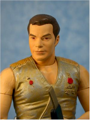 Star Trek Original Series Mirror Mirror Kirk action figure by Art Asylum