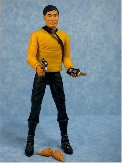 Star Trek Original Series Sulu action figure by Art Asylum