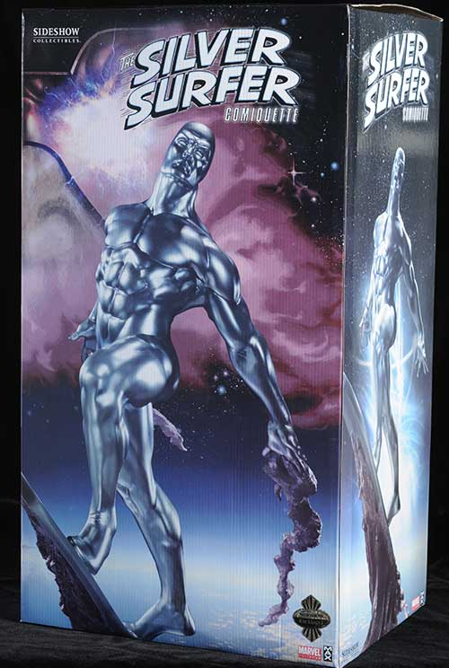 Silver Surfer Comiquette statue by Sideshow