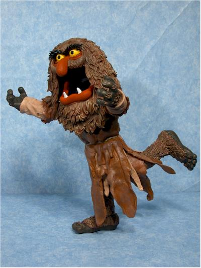 Palisades Muppets Sweetums action figure