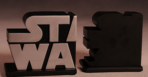 Star Wars Logo Borders Bookends by Gentle Giant