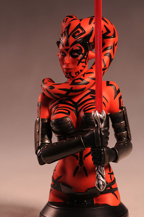 Star Wars Darth Talon bust and statue by Gentle Giant, Sideshow