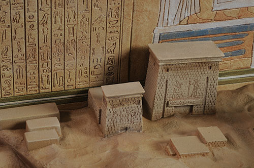 Indiana Jones City of Tanis Map Room diorama by Sideshow